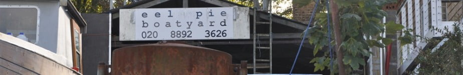 Welcome to Eel Pie Boatyard